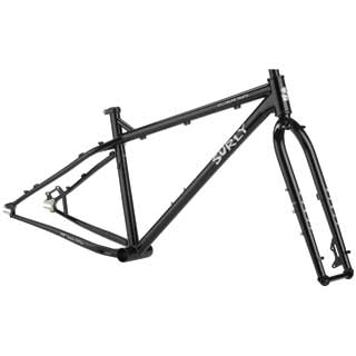 Surly - Bikes/frames: Surly I.c.truck F/set Sm Blk