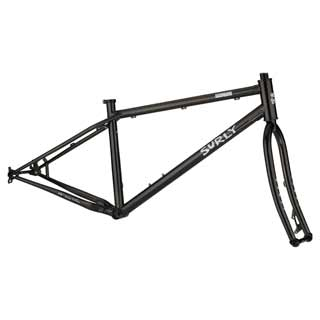 Surly - Bikes/frames: Surly Lowside 26+ F/st Sm Blk