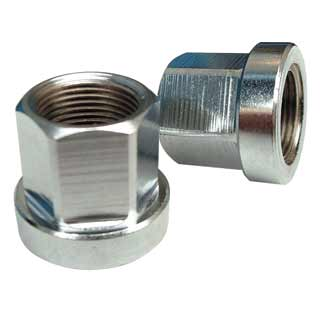 Id: Hub Axle Nuts 14mm/17mm Sil