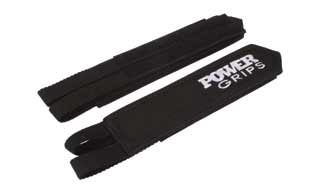 Powergrips: Power Grips Fat Straps Red