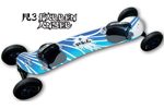 Radsails: Radsails Rkb R3 Fallen Angel 109cm Dirtboard - Click For More Info