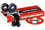 Bones: Bones Super Swiss 6 608 Skate Bearings - Click For More Info