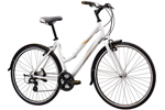 Mongoose: Mg Kaldi Fem Med White Commuter Cycle - Click For More Info