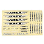 Halo: Halo Logo Sticker Sheet Asst - Click For More Info