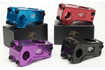 Abike Co: Abike Jumpoff Remix Black Bmx Stem - Click For More Info