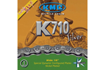 Kmc: Kmc K710 Silver 100l Bmx Chain - Click For More Info