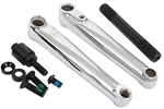 Dk: Dk Social Chrome 175mm Bmx Cranks - Click For More Info