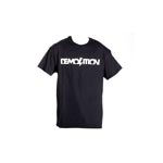 Demolition Bmx: Demolition Logo Tee Md Blk - Click For More Info