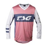 Tsg: Tsg Mj1 Ls Bikeshirt Rd/gry Md - Click For More Info