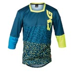 Tsg: Tsg Sp2 3/4 Bikeshirt Bu/yel Md - Click For More Info