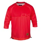 Tsg: Tsg John Ls 3/4 Bikeshirt Red Lg - Click For More Info