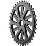 All-city - Parts: Allcity Splined C/ring 33t Bk - Click For More Info