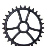 Demolition Bmx: Demolition Mugatu Sprkt 24mm 25t Bk - Click For More Info