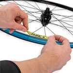 Halo: Halo Evaura Disc Rim Decals Blue - Click For More Info