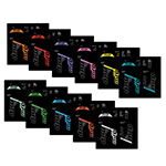 Mrp - Suspension: Mrp Stage Decal Kit Turquoise - Click For More Info