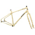 Surly - Bikes/frames: Surly Ecr 27+ F/set Xs Beige - Click For More Info