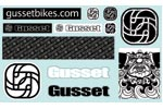 Gusset: Gusset Sticker Sheet Asst. - Click For More Info