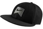 Nike: Nike Icon Swoosh Blk Flex Cap - Click For More Info
