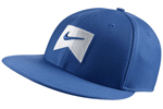 Nike: Nike Icon Swoosh Blu Flex Cap - Click For More Info