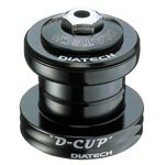 "Dia-compe: Dc D-cup H/set 11/8"" Fs Blk - Click For More Info"
