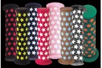 All-city - Parts: Allcity Dp Bmx Grips Blk/pink - Click For More Info