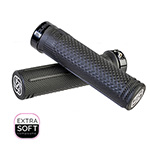 Gusset Grips: Gusset S2 Soft L-on Grips Blk - Click For More Info