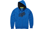 Fox: Fox Point Ttf Lge Blue Zip Ft Fleece - Click For More Info