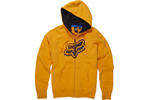 Fox: Fox Point Ttf Med Orange Zip Ft Fleece - Click For More Info