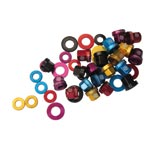"Gusset: Gusset Al Axle Nuts 3/8"" Red - Click For More Info"