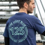 Light Blue Sport: L.blu 125 Yr T-shirt Navy Xl - Click For More Info