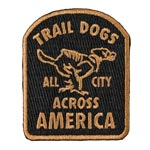 All-city - Parts: Allcity Trail Dogs Patch Blk/brn - Click For More Info