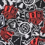 "Surly - Parts: Surly Iron-on Patch 10"" - Click For More Info"