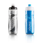 Source Outdoor: Source Insulated Bottle 600ml Gry - Click For More Info