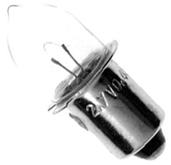 Reflectalite: Reflectalite Krypton Flange Type Cycle Light Bulb 2.4v/0.5a/