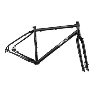 Surly - Bikes/frames: Surly Bridge Club F/set Sm Blk