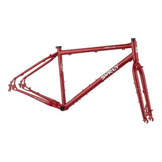 SURLY BRIDGE CLUB F/SET XL RED