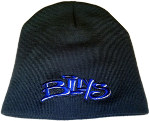 Billys: Billys Slouch Beanie Knitted With Embroidered Logo Universal