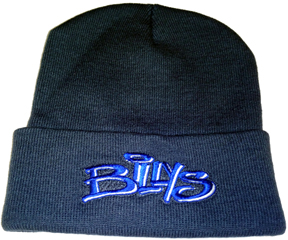 Billys: Billys Turn-up Beanie Knitted With Embroidered Logo Universa