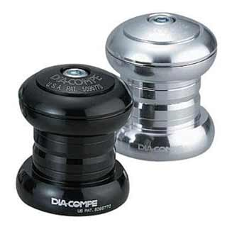 "Dia-compe: Dc Nb-1 Alloy H/set 1"" Blk"