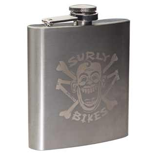 Surly - Parts: Surly S/steel Hip Flask 6oz