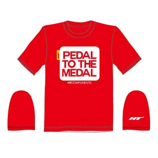 Ht Components: Ht Pedal To Medal Tee Red Sm