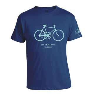 Light Blue Sport: L.blu Old Bike T-shirt Nvy Xl
