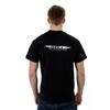 image of Halo tech Logo T-shirt back