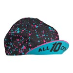 All-city - Parts: Ac 10th Anniv Cycling Cap Bk/pnk - Click For More Info