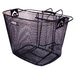 Adie: Adie Front Mesh Basket Black - Click For More Info