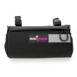 Miss Grape: Miss Grape Moon H/bar Bag Blk - Click For More Info