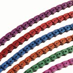 "Gusset: Gusset Slink Chain 3/32""black - Click For More Info"