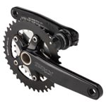 Surly - Parts: Surly Od 2x Crankset 170 Blk - Click For More Info