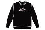 Billys: Billys Logo Crewneck Sweatshirt Small Black - Click For More Info