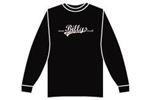 Billys: Billys Logo Long Sleeve T-shirt Small Charcoal Grey - Click For More Info